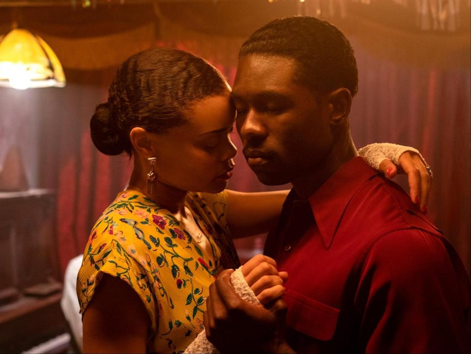 The issues with 'The United States vs Billie Holiday' are no more apparent than in the handling of Jimmy Fletcher (Trevante Rhodes) and Billie Holiday's (Andra Day) relationshipSky Cinema