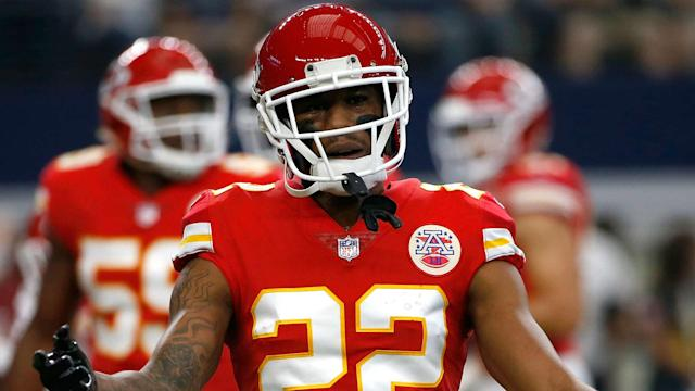 Chiefs coach Andy Reid said Wednesday the Pro Bowl cornerback would not play in Sunday's game against the Raiders.
