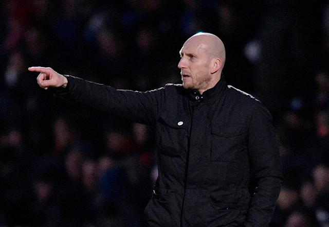 Soccer Football - FA Cup Third Round - Stevenage vs Reading - The Lamex Stadium, Stevenage, Britain - January 6, 2018 Reading manager Jaap Stam Action Images/Alan Walter
