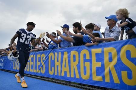 FILE PHOTO: NFL: Los Angeles Chargers-Training Camp