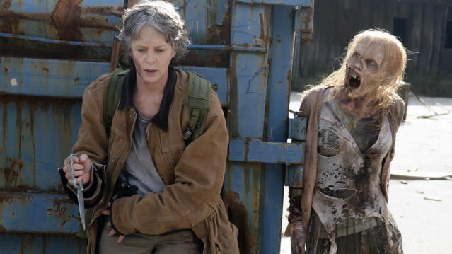 Melissa McBride as Carol in 'The Walking Dead' (Photo: AMC)