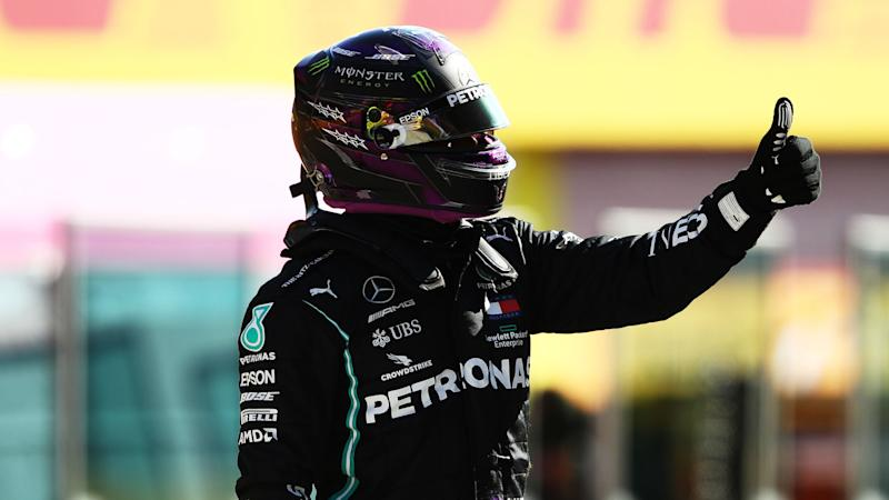 F1 2020: Hamilton takes first Mugello pole after yellow flag costs Bottas