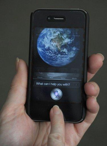 "<p>The ""Siri"" digital personal assistant is displayed on an Apple iPhone 4S in Washington, DC on March 13, 2012. Apple's Siri, which made its debut with the release of the iPhone 4S in 2011, was first developed in 2007.</p>"