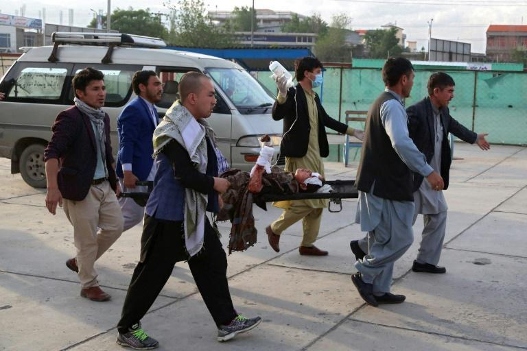 The explosion rocked the west Kabul district of Dasht-e-Barchi -- a regular target of Sunni Islamist militants -- as residents were out for shopping ahead of Eid-al-Fitr