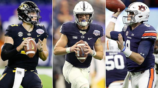 Historically the NFL has gravitated toward a certain type of quarterback, propping up a handful of college passers before the start of the season. But this year is different—there's not a group of clear first-round draft prospects at the position, which may cause NFL teams to shift how they evaluate the position.