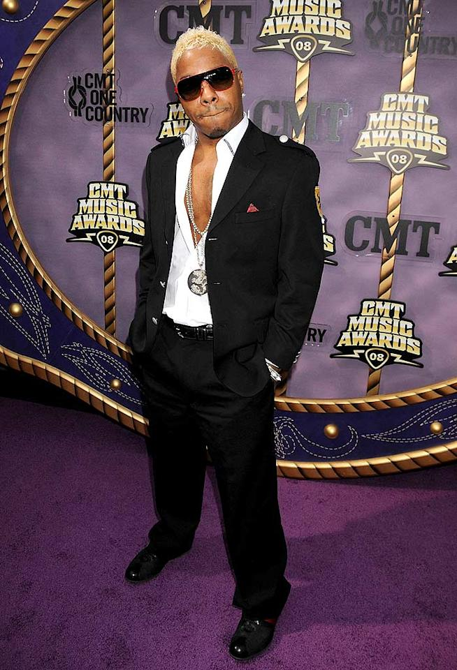 """Fortunately, R and B singer Sisqo, and star of CMT's reality series """"Gone Country,"""" did not wear a thong to the awards show. Jeff Kravitz/<a href=""""http://filmmagic.com/"""" target=""""new"""">FilmMagic.com</a> - April 14, 2008"""
