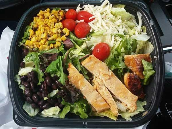 jack box southwest salad