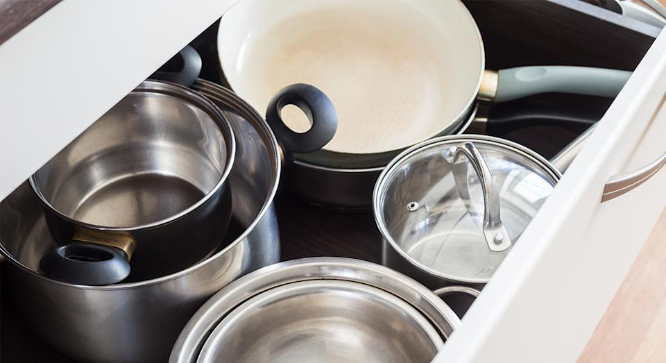 Sick of your kitchenware getting scratched and damaged? John Lewis has just the thing.  (Getty Images)
