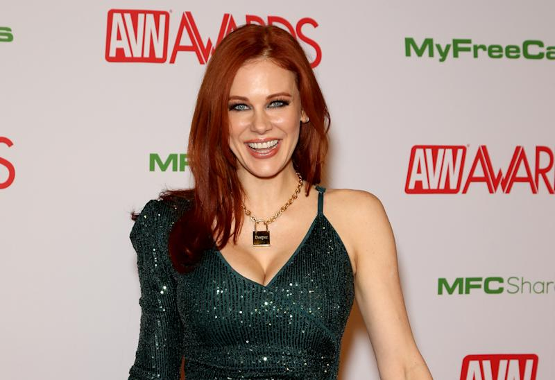 LAS VEGAS, NEVADA - JANUARY 25: Actress Maitland Ward attends the 2020 Adult Video News Awards at The Joint inside the Hard Rock Hotel & Casino on January 25, 2020 in Las Vegas, Nevada. (Photo by Gabe Ginsberg/Getty Images)
