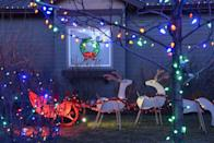 """<p>Winter is well on its way, which means it's time to start thinking about your <a href=""""https://www.housebeautiful.com/entertaining/holidays-celebrations/g3952/diy-christmas-decorations/"""" rel=""""nofollow noopener"""" target=""""_blank"""" data-ylk=""""slk:holiday decorating scheme"""" class=""""link rapid-noclick-resp"""">holiday decorating scheme</a>—if you haven't already, that is. First step: lighting! Maybe you prefer to go the simple, warm-white <a href=""""https://www.housebeautiful.com/shopping/g20899678/outdoor-party-backyard-lights/"""" rel=""""nofollow noopener"""" target=""""_blank"""" data-ylk=""""slk:string lights"""" class=""""link rapid-noclick-resp"""">string lights</a> approach, maybe you want something that feels a little more fun and playful, maybe you're all about nostalgia, or maybe you're planning to go all out, <em><a href=""""https://www.housebeautiful.com/shopping/a34588872/national-lampoons-christmas-vacation-lawn-inflatable-projector/"""" rel=""""nofollow noopener"""" target=""""_blank"""" data-ylk=""""slk:National Lampoon's Christmas Vacation"""" class=""""link rapid-noclick-resp"""">National Lampoon's Christmas Vacation</a></em> style. In any case, there are tons of outdoor Christmas lights to choose from out there, so we've rounded up some of the best—that is, highly reviewed by customers, or just plain cool—holiday lights you can buy online this season. </p><p>From fairy lights and vintage-inspired C9 bulbs to hanging icicle lights and falling stars (not to mention a projector and a gadget that can turn your favorite lights into an animated musical display!), amazing options await you. And your home? It's never looked so festive. If it were a competition, you'd win best-decorated for sure. Plus, most of these lights are affordable, and some are even solar-powered to help you save on your electric bill come December, too. </p>"""