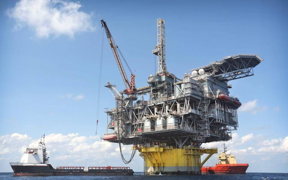 Shell's Perdido offshore drilling and production platform is located in the Gulf of Mexico 200 miles southwest of Houston, Texas - Gary Tramontina/Corbis News
