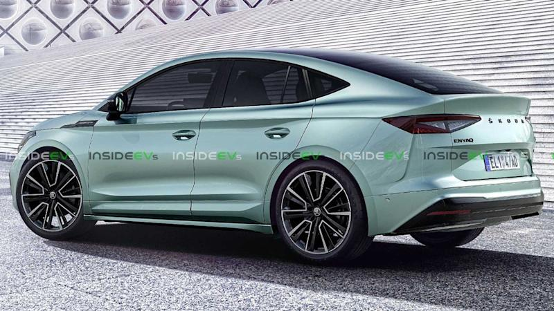 Better-Looking Skoda Enyaq GT Appears In Skillful Rendering