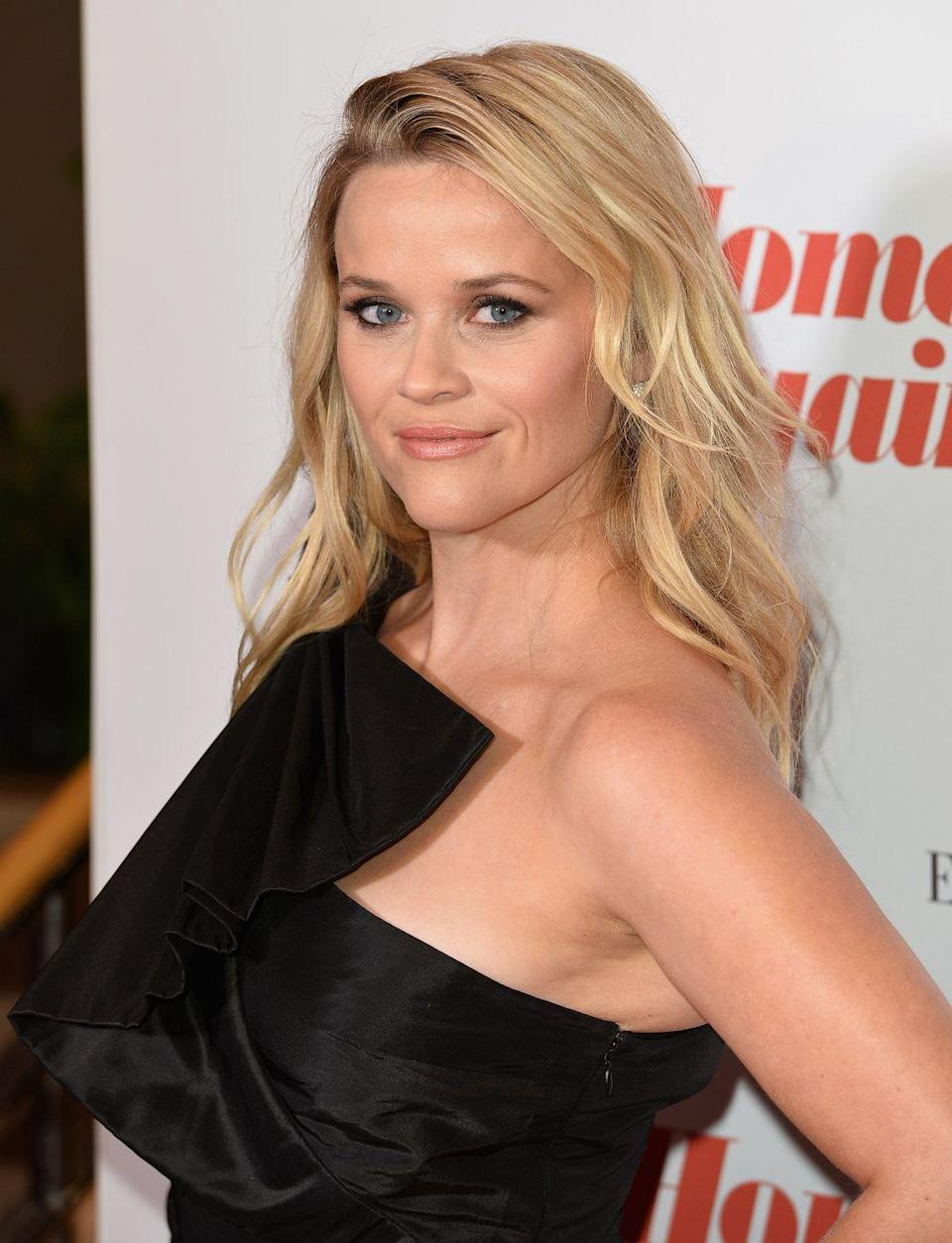 """<p><strong>Real name: </strong>Laura Jeanne Reese Witherspoon</p><p>Reese kept her name but shortened it, choosing to keep her mom's maiden name, Reese, and make that her first. Apparently, <a href=""""https://www.thetalko.com/20-little-known-details-about-reese-witherspoon-she-keeps-under-wraps/"""" rel=""""nofollow noopener"""" target=""""_blank"""" data-ylk=""""slk:she changed her name"""" class=""""link rapid-noclick-resp"""">she changed her name</a> to make it more """"Hollywood."""" </p>"""
