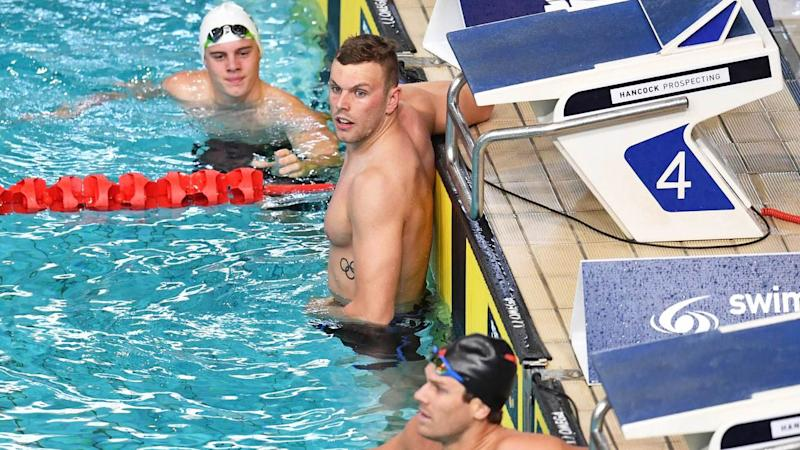 Kyle Chalmers is well and truly back. Image: AAP
