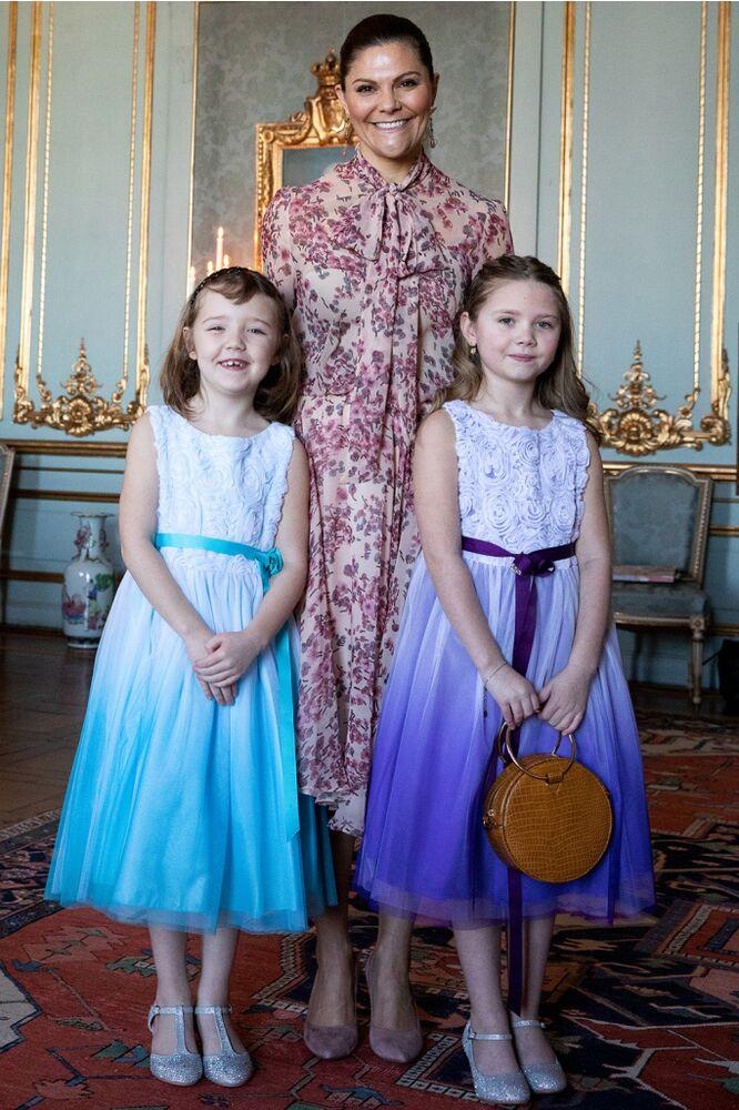 Crown Princess Victoria welcomes Emilia | Sara Friberg Kungl. Hovstaterna