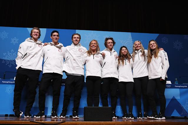 <p>Gerard is one of the youngest Olympians on Team USA. Team uSA has 11 teens competing in PyeongChang. </p>