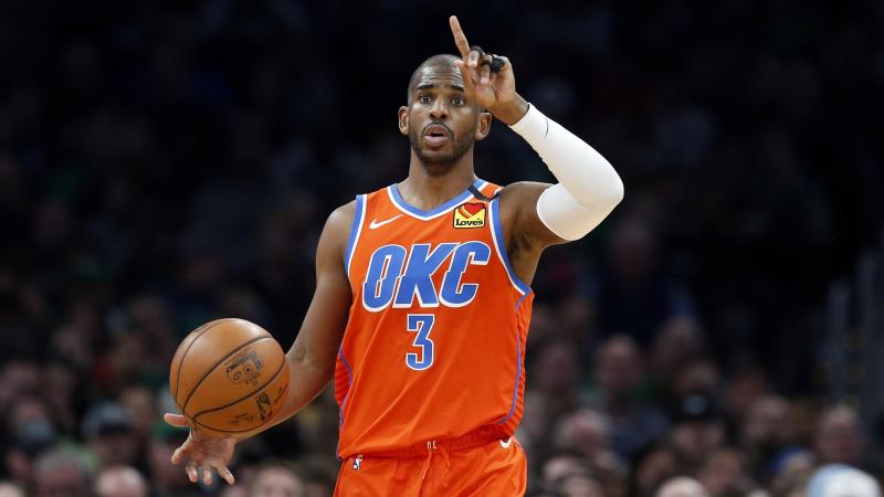 Chris Paul helped negotiate social justice messaging in the NBA bubble. (AP Photo/Michael Dwyer)