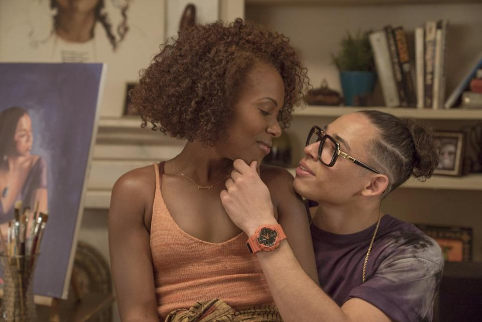 """<p>Spike Lee reimagines his critically acclaimed '80s indie comedy in this modern, serialized remake. The show circles around the life of Nola Darling (DeWanda Wise), a fiercely independent artist with three strikingly different paramours. </p> <p><a href=""""http://www.netflix.com/title/80117554"""" class=""""link rapid-noclick-resp"""" rel=""""nofollow noopener"""" target=""""_blank"""" data-ylk=""""slk:Watch She's Gotta Have It on Netflix now"""">Watch <strong>She's Gotta Have It</strong> on Netflix now</a>.</p>"""