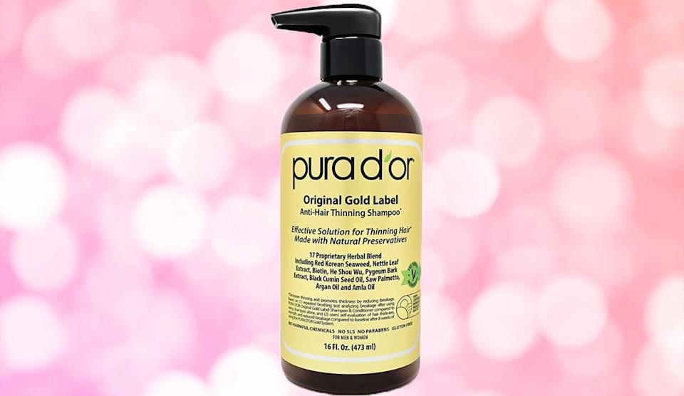 Over 16,500 reviewers are obsessed with this shampoo. (Photo: Amazon)