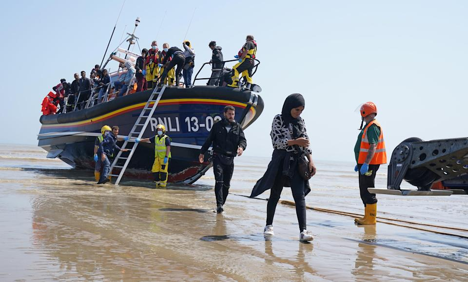 The Home Office claims that prevented about 7,500 migrants crossing (stock image) (PA Wire)