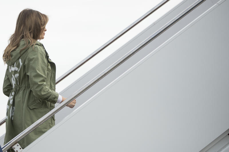 Portland company responds to Melania Trump's jacket