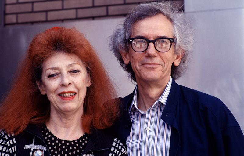 Christo and his wife and collaborator, Jeanne-Claude, in 1997.
