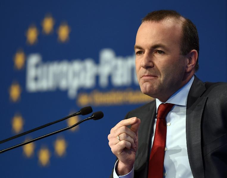 EPP leader Manfred Weber says if he becomes European Commission president he will oppose the Nord Stream 2 pipeline (AFP Photo/Christof STACHE)