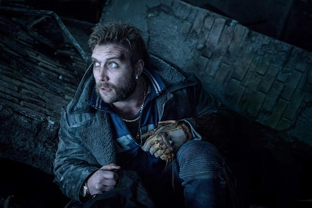 Jai Courtney as Captain Boomerang in <em>Suicide Squad</em>; the character makes a quick appearance in <em>Birds of Prey</em>. (Photo: Clay Enos / © Warner Bros. /Courtesy Everett Collection)