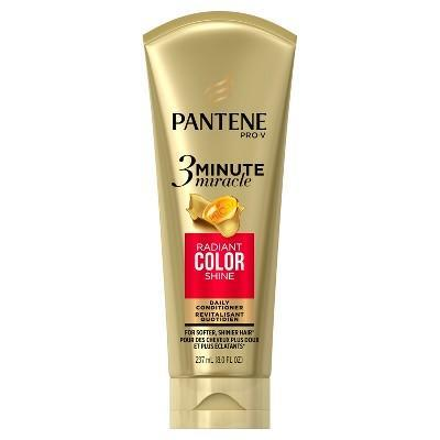 """<strong><h2>Deep Treatment</h2></strong> <br><h2><h3>Pantene Pro-V 3 Minute Miracle Radiant Color Deep Conditioner<br></h3></h2><br>When I don't have 20 minutes to devote to masking, I reach for this tube, which can also be used as a daily conditioner if you shampoo every day. It makes my split ends look smooth, and smells incredible. When I style my hair after using this, it's visibly shinier and easier to manage. And the best part? It works its magic in the time it takes to shave my legs or brush my teeth.<br><br><strong>Pantene</strong> Pro-V 3 Minute Miracle Radiant Color Deep Conditioner, $, available at <a href=""""https://go.skimresources.com/?id=30283X879131&url=https%3A%2F%2Fwww.target.com%2Fp%2Fpantene-pro-v-3-minute-miracle-radiant-color-deep-conditioner-8-fl-oz%2F-%2FA-51176512"""" rel=""""nofollow noopener"""" target=""""_blank"""" data-ylk=""""slk:Target"""" class=""""link rapid-noclick-resp"""">Target</a><br><br>"""