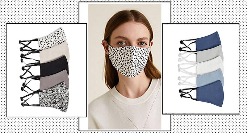 M&S restock sell-out non-medical face coverings to meet the demand. (Marks and Spencer/ Yahoo Style UK)