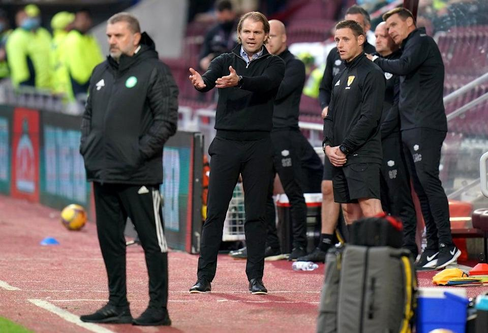 Hearts manager Robbie Neilson (Jane Barlow/PA) (PA Wire)