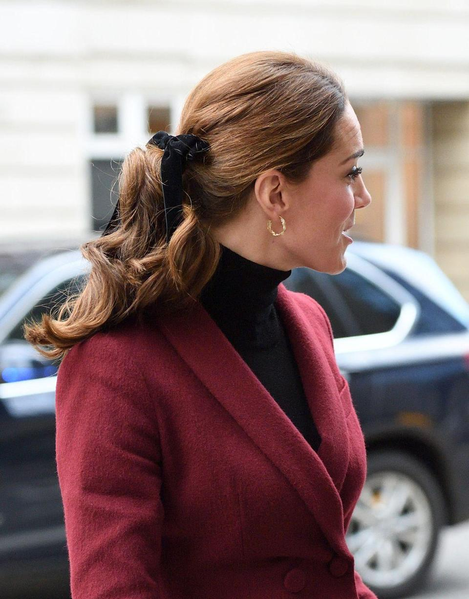 <p>In 2018, Kate Middleton wore a velvet hair bow, so we all bought velvet hair bows. The trend exploded after the Duchess of Cambridge wore the accessory — and it wasn't long before it was popping up on red carpets across Hollywood. </p>