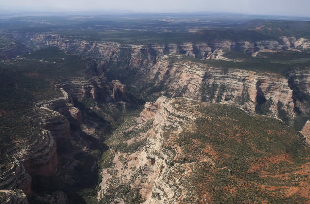 Arch Canyon in Bears Ears National Monument in Utah. On Dec. 4, President Trump signed legislation to shrink Bears Ears National Monument as well as Grand Staircase-Escalante National Monument in Utah. (Photo: Francisco Kjolseth/The Salt Lake Tribune via AP)