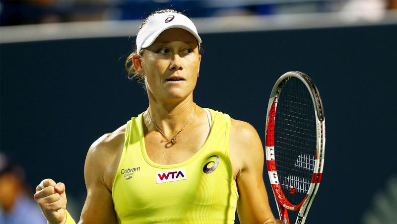 Sam Stosur reveals what changed her mind to help recognise the incredible achievements she has achieved in tennis. (Getty Images)