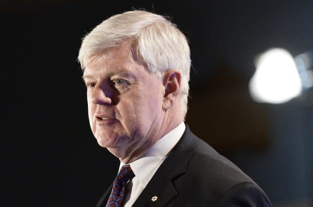 John Manley, president and CEO of the Business Council of Canada, at an event in Ottawa, Thurs. Jan. 28, 2016.