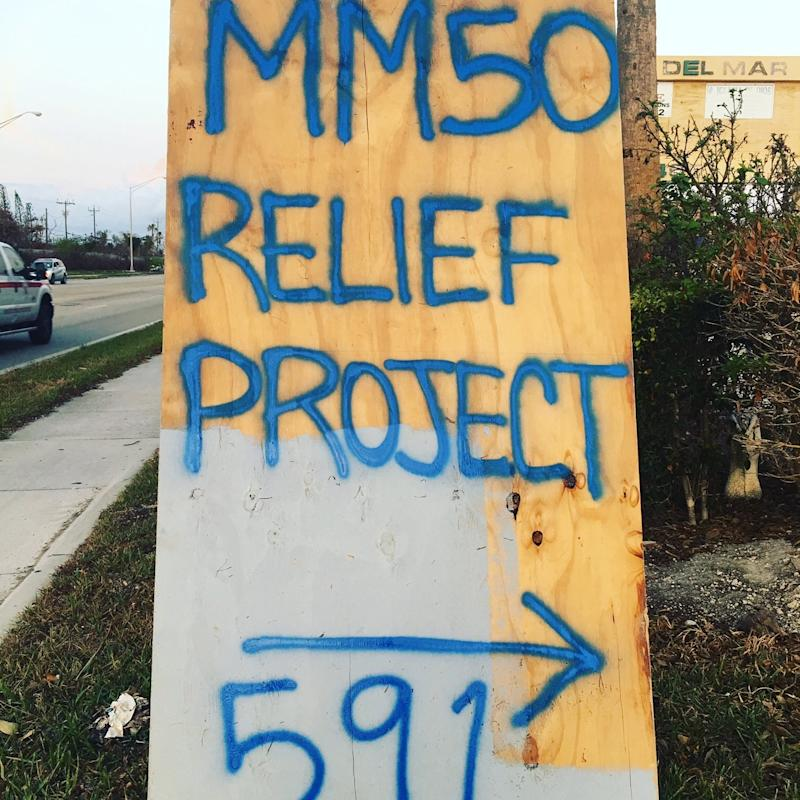 Florida mom and teacher Krystal Langley started MM50 Relief Project to help with the recovery after Hurricane Irma. (Krystal Langley)