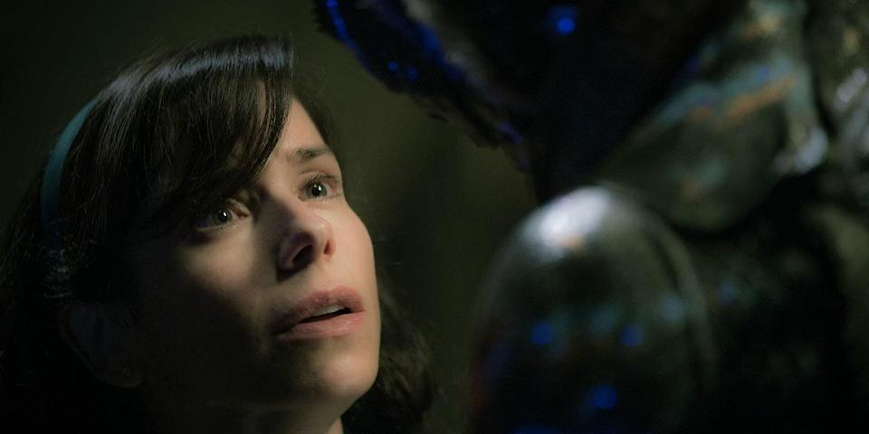 Sally Hawkins in Guillermo del Toro's 'The Shape of Water' (credit: Fox Searchlight)