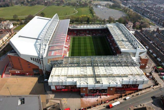 Temporary rail seating will be trialled at Anfield this season