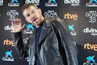 <p>Antonio Banderas attends the 35th Goya Awards press conference on Tuesday at Cinema Academy in Madrid, Spain.</p>
