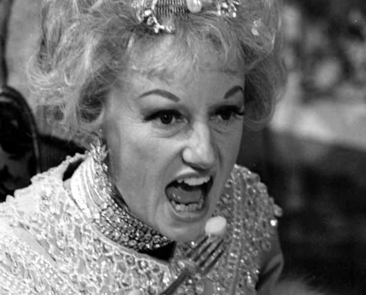 FILE--In this May 20, 1966 file photo, comedian Phyllis Diller appears in character in the ABC-TV comedy series ''The Pruitts of Southampton''. Diller, the housewife turned humorist who aimed some of her sharpest barbs at herself, died Monday, Aug. 20, 2012, at age 95 in Los Angeles. (AP Photo/File)