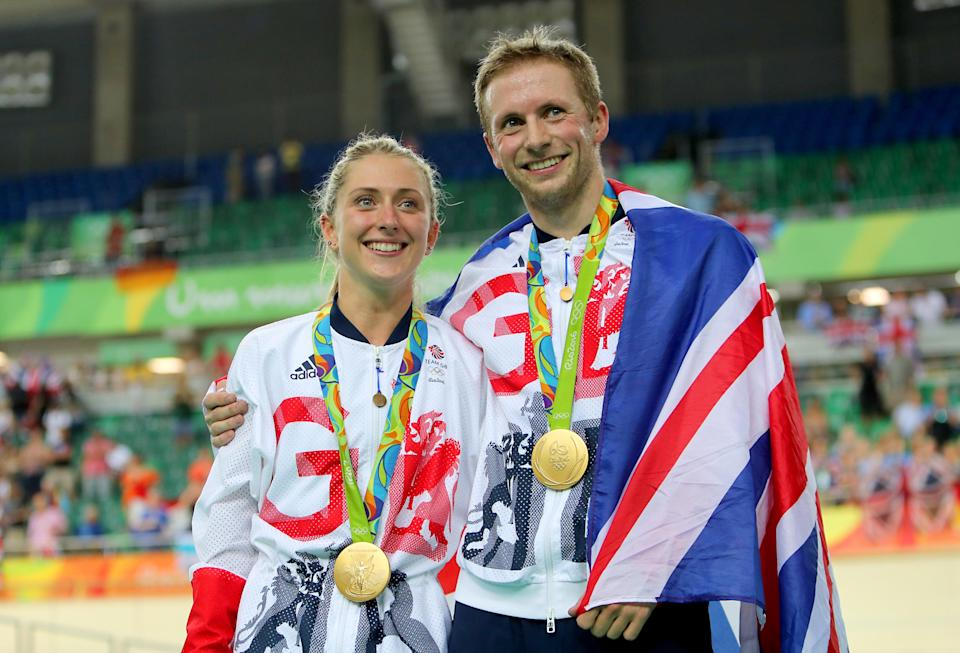 British cycling's golden couple will look to make history at the Tokyo Olympics next month (David Davies/PA) (PA Wire)