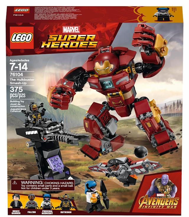 Hulkbuster Smash-Up (Photo: Lego)