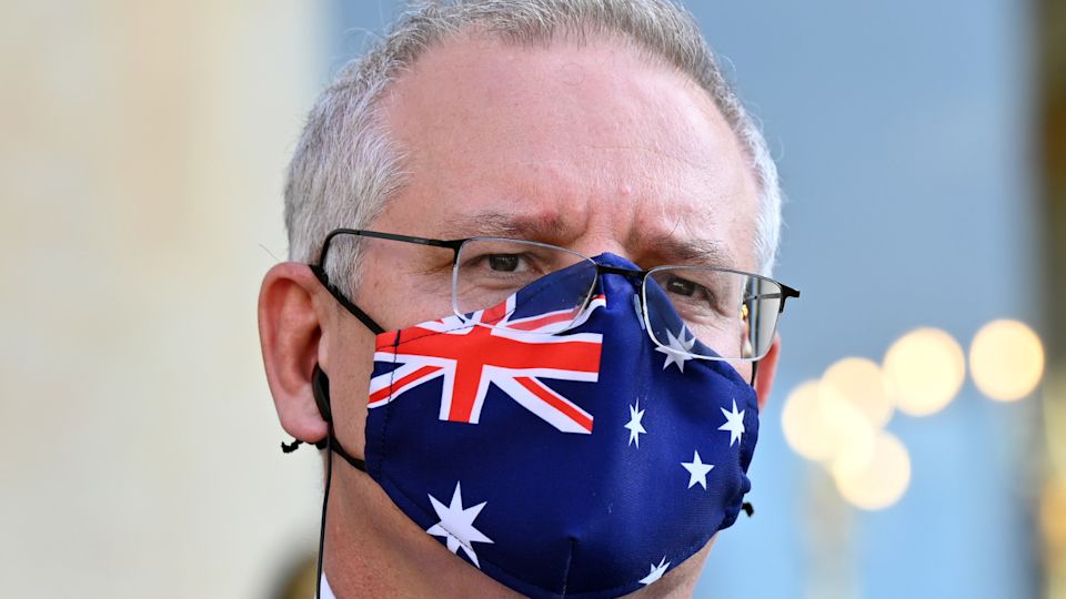 Scott Morrison has waived the asset test for the $500 lockdown payments. (Source: Getty)