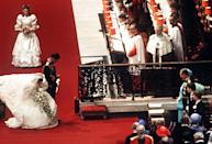 <p>Every bride wants to impress their mother-in-law, but when your MIL also happens to be the Queen, it's customary to give a curtsy upon seeing her—even at your own wedding. </p>