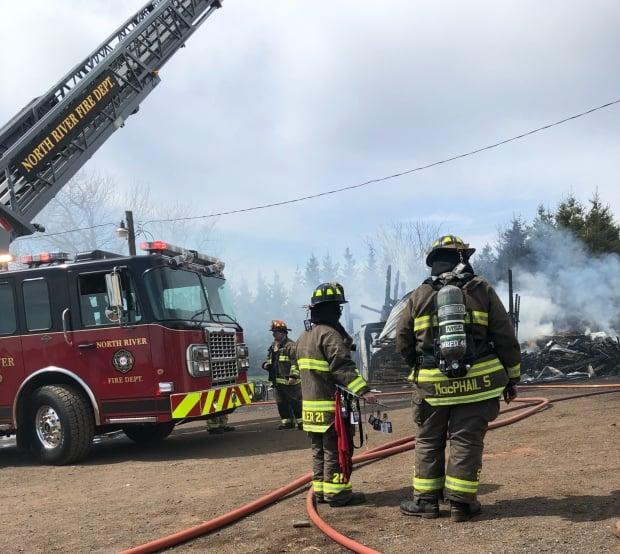 The fire was under control by late afternoon.