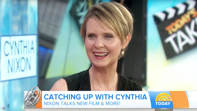 Cynthia Nixon Unveils Candidacy for Governor of New York