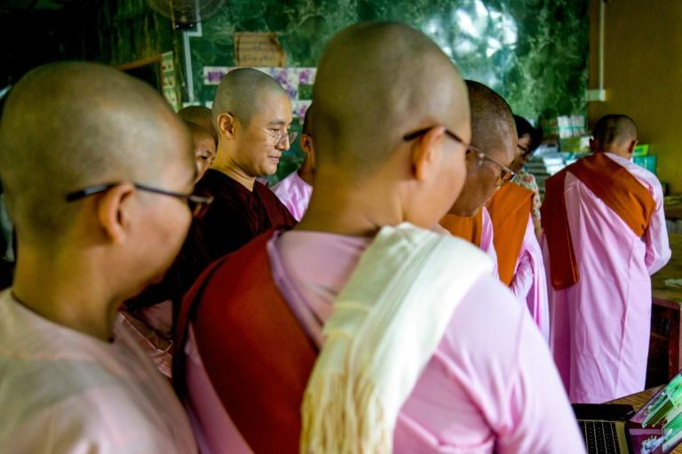 The deep-red robes and shorn heads of Myanmar's monks are internationally recognised, but the plight of the nation's vast number of nuns, estimated to be in excess of 60,000, is little documented