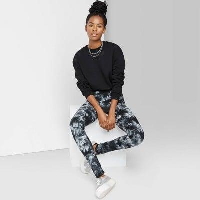 <p>Go for something bold like these <span>Wild Fable High-Waisted Leggings</span> ($14).</p>