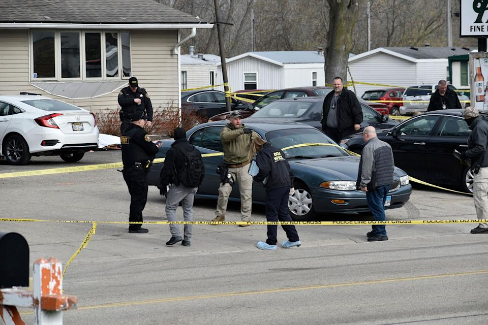 Authorities say several people were killed and a few were seriously wounded in a shooting early Sunday at the tavern in Kenosha County in southeastern Wisconsin. Source: AP