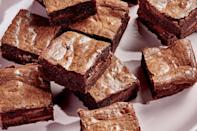 """Baking your way through 2020 meant tray after tray of brownies. These were an easy favorite—part of our meditation on what we mean when we talk about <a href=""""https://www.epicurious.com/expert-advice/chewy-brownies-how-to-make-them-article?mbid=synd_yahoo_rss"""" rel=""""nofollow noopener"""" target=""""_blank"""" data-ylk=""""slk:chewy brownies"""" class=""""link rapid-noclick-resp"""">chewy brownies</a>. <a href=""""https://www.epicurious.com/recipes/food/views/malted-forever-brownies?mbid=synd_yahoo_rss"""" rel=""""nofollow noopener"""" target=""""_blank"""" data-ylk=""""slk:See recipe."""" class=""""link rapid-noclick-resp"""">See recipe.</a>"""